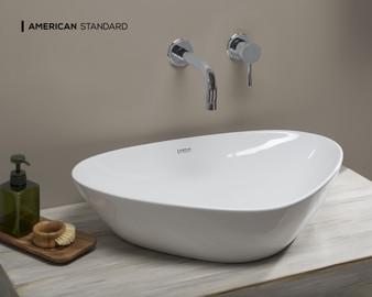 American Standard Elemento Drop-in Basin in White