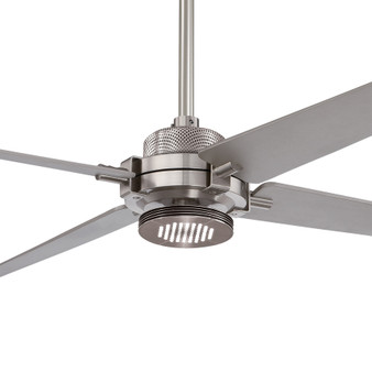 "Spectre LED 60"" Indoor Ceiling Fan in Brushed Nickel"