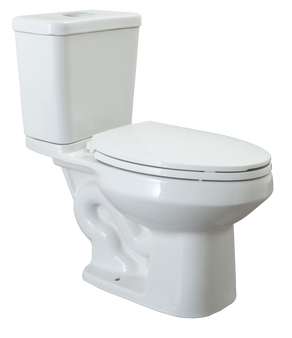 Olympus 2 High Efficiency Elongated Front Toilet in White