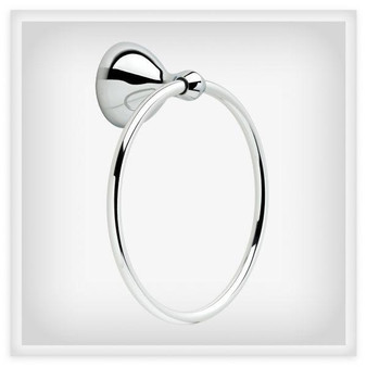 Amesbury Towel Ring in Polished Chrome 08LI-AME46-PC