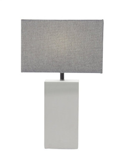 Active Home Centre 39987 Metal and Cement Table Lamp