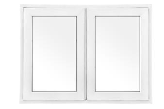 """48""""x 36"""" UPVC Casement Window in White"""