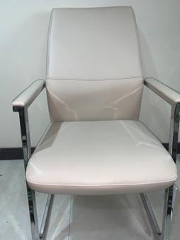 Beige Office Chair - Medium Back