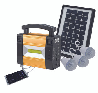 3 Light Solar Kit with USB Port