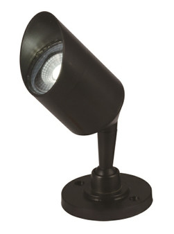 5W GU10 LED Garden Lamp in Black