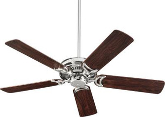 "Venture 52"" Indoor Ceiling Fan in Polished Nickel"
