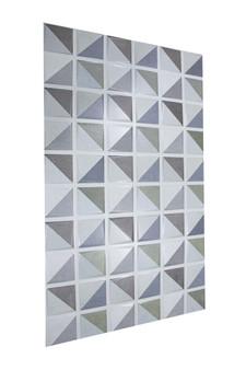 "Gaia Decor 13""x 22"" Ceramic Wall Tile"