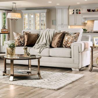 Kiana Sofa in Light Grey
