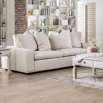 Acamar Sofa in Ivory