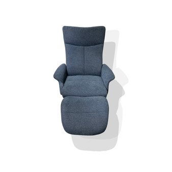 Recliner with Ottoman in Belfast 25CM-CM79344AG)