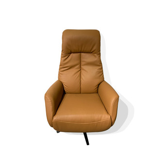 Electric Recliner Chair in Camel