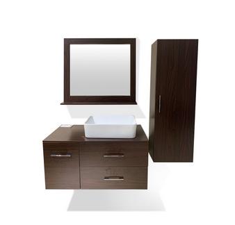 """35"""" Wall Hung Bathroom Cabinet Set"""