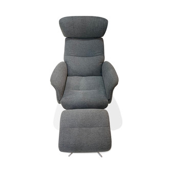 Recliner with Ottoman in Belfast