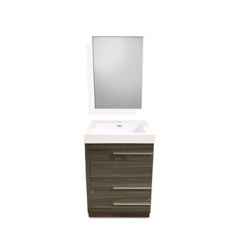 "24"" Bathroom Cabinet Set (08SU-SLT-T610-D)"