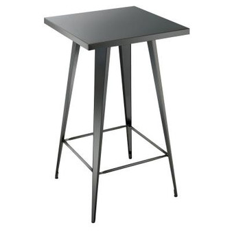 Timon Bar Table in Gun Metal