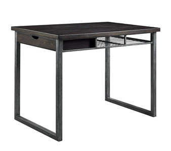 Nisland Counter Height Bar Table in Gray
