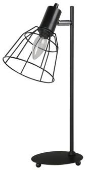 1 Light Desk Lamp in Matt Black