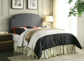 Hasselt Queen or Full Headboard in Gray