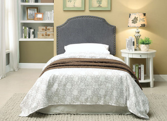 Hasselt Twin Headboard in Gray