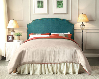 Hasselt King Headboard in Teal