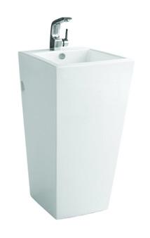Freestanding Pedestal Basin in White