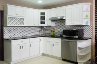 Ready to Assemble Kitchen Cabinets in White