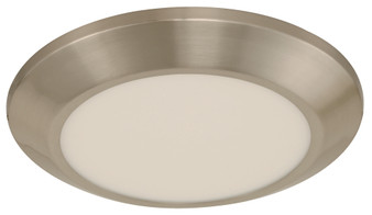 18W LED Ceiling Light in Satin Nickel