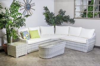 TLC17 4 Piece Outdoor Sofa Set in Sky