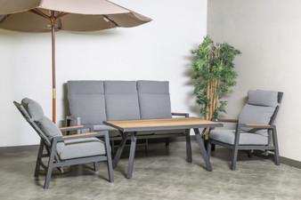 SDS19403 4 Piece Outdoor Recliner Sofa Set