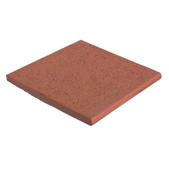 "Spanish Red Abrasive 6"" x 6"" Quarry Tile"
