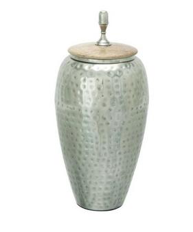 Metal/Wood Vase
