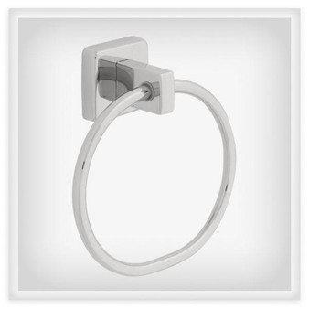 Century Towel Ring in Stainless Steel