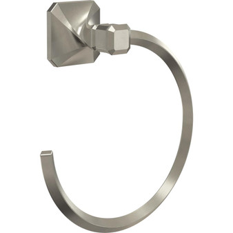 Napier Towel Ring in Satin Nickel