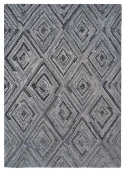 Gray Woven 5' x 8' Rug
