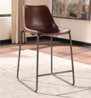 Dark Gunmetal Counter Height Chair