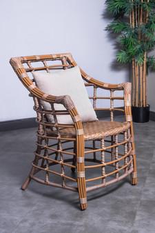 1242C Outdoor Patio Chair in Beige