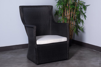 1205C Outdoor Patio Chair in Brown