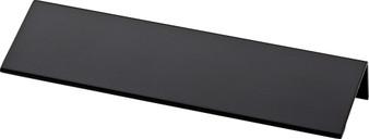 "Modern Edge 5 13/16"" Cabinet Pull in Flat Black"