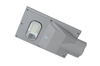 8928LED-30 LED Solar Street Light in Silver