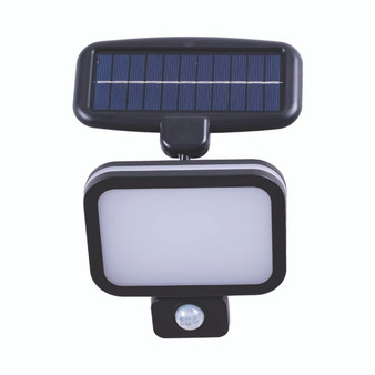 8993-60K LED Solar Sensor Light in Black