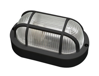 6469BK Outdoor Bulkhead Light in Black