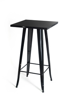 Glossy Black Bar Table