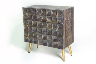 Grey Wood Dresser