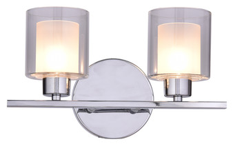 SW8491-2CH 2 Light Wall Sconce in Chrome