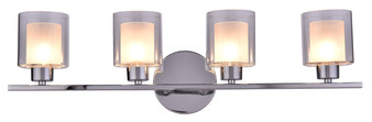 SW8491-4CH 4 Light Wall Sconce in Chrome