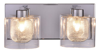 SW8790-2CH Vanity 2-Light Wall Sconce in Chrome