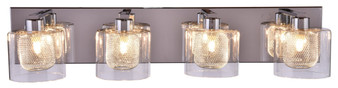 SW8790-4CH Vanity 4-Light Wall Sconce in Chrome