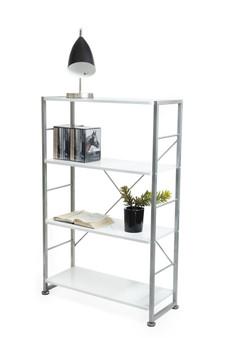 Glossy White Bookshelf