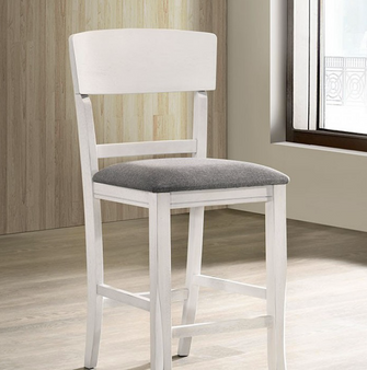 Staci Counter Height Chair (White)