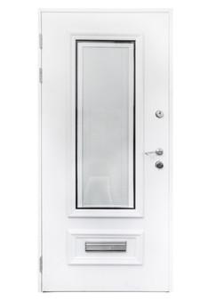 """BT1AB0 36""""x80"""" Steel Security Door"""
